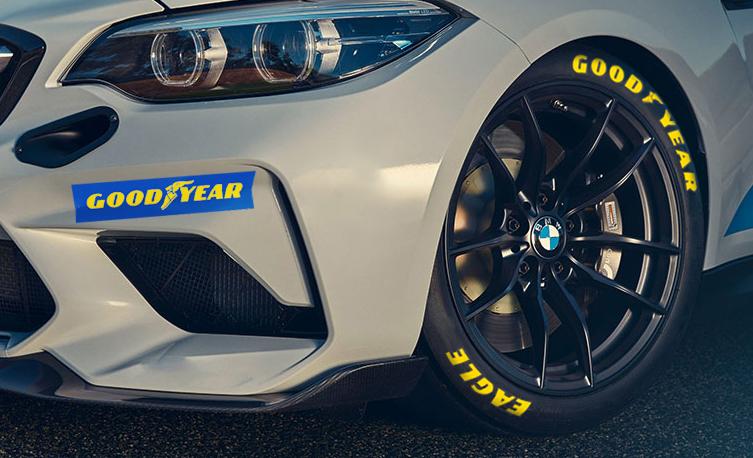 BMW M2 Cup startet auf Goodyear in die Premierensaison