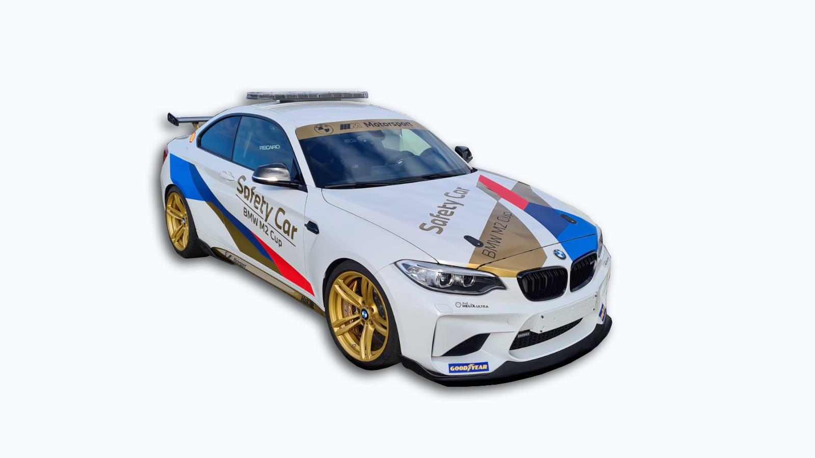 Der Countdown läuft: BMW M2 Cup präsentiert Safety-Car