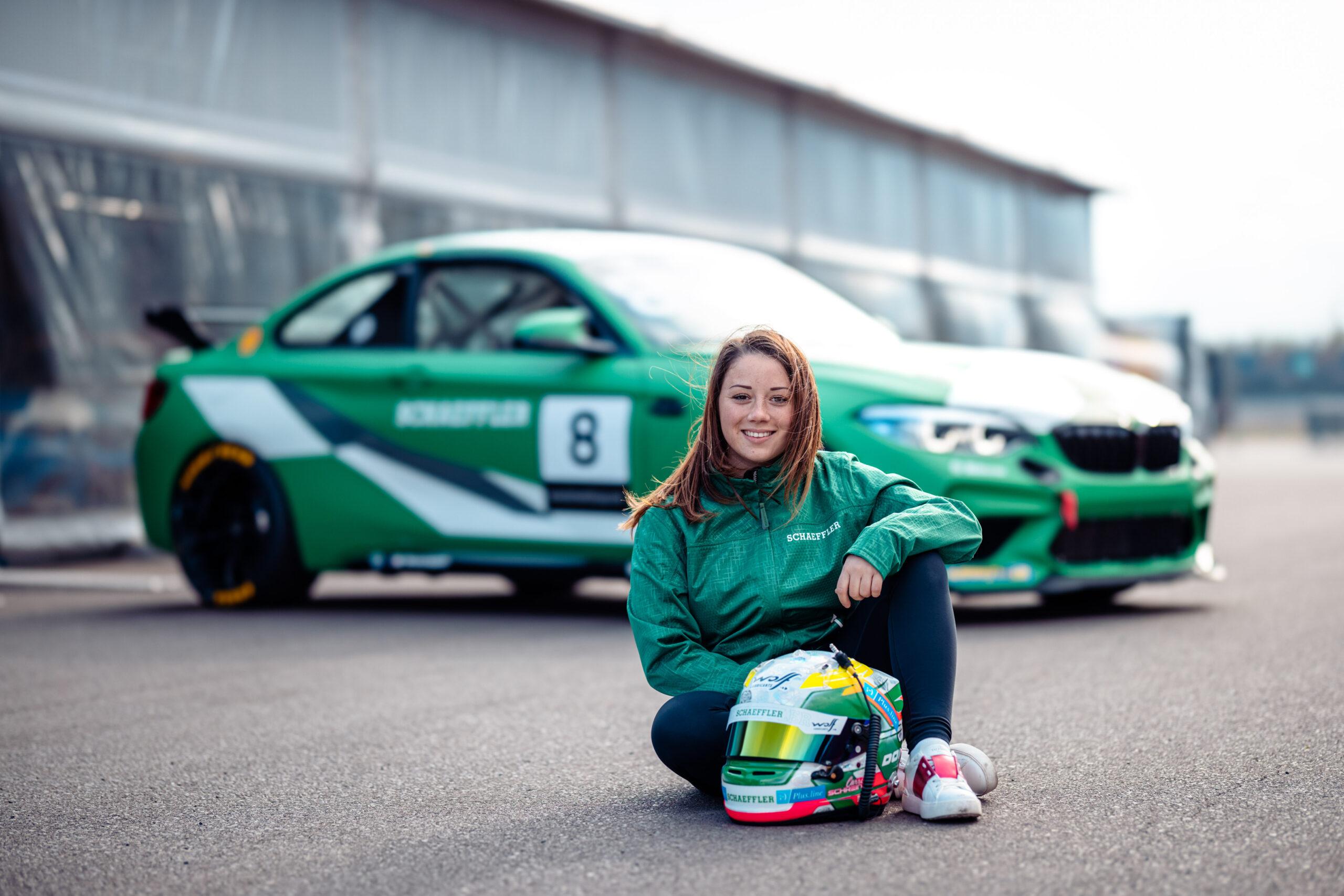 Carrie Schreiner: Schnelle Verstärkung für den BMW M2 Cup